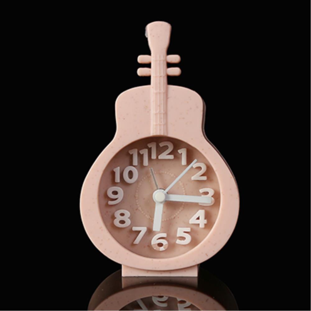 첼로 디자인 탁상용 미니 알람시계 2개  클래식시계 벽시계