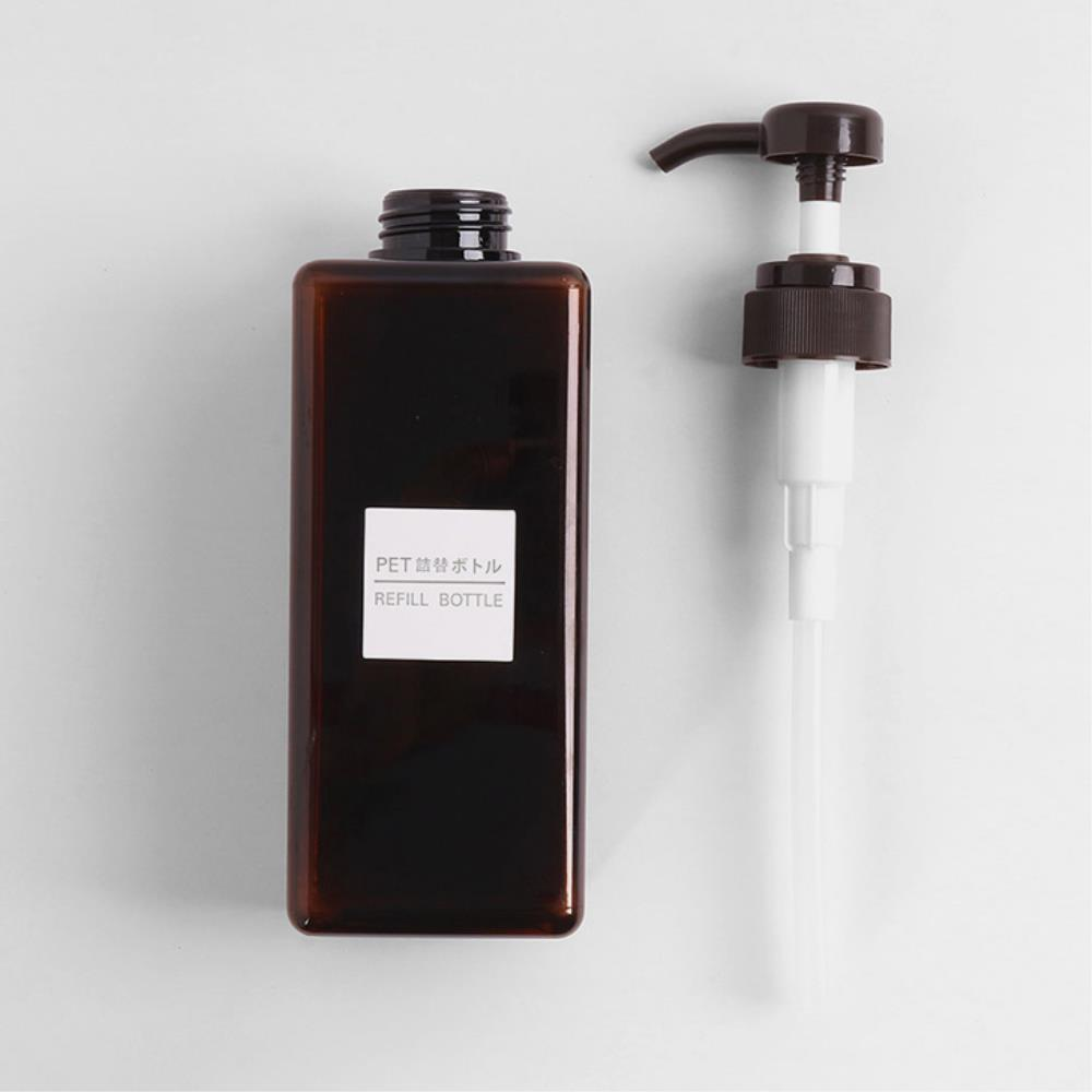 호텔욕실용품 대용량 펌프형 디스펜서 리필용기  2개