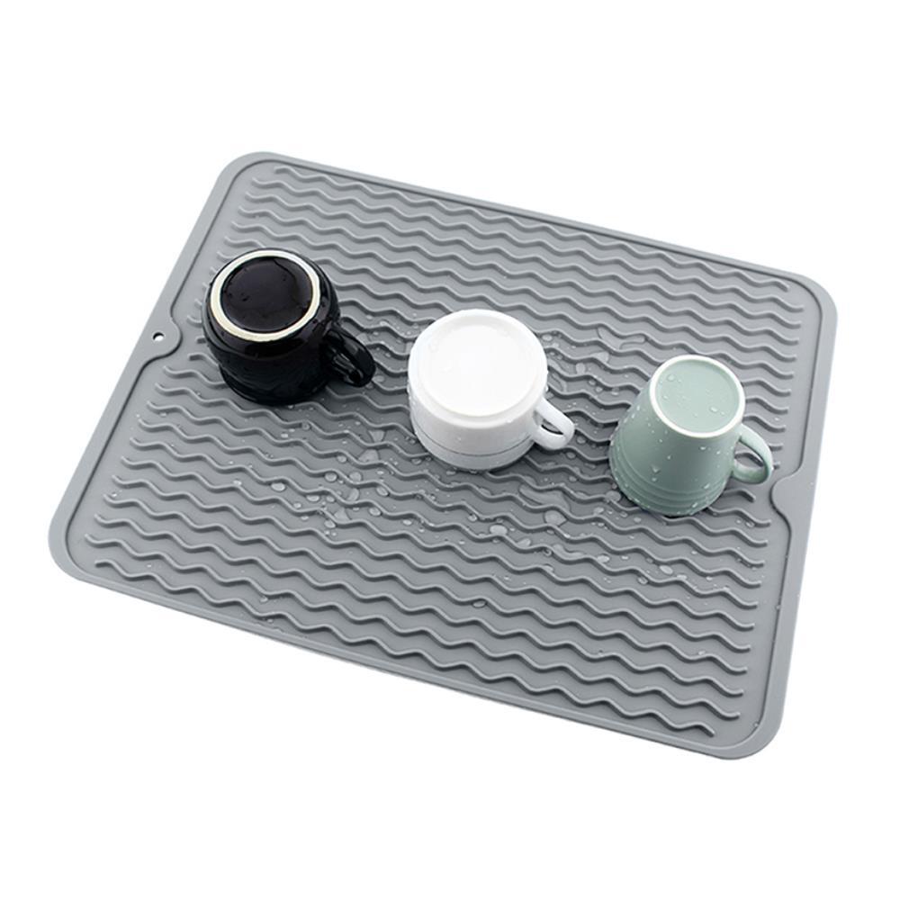 식탁보 설거지 식기건조 실리콘 드라잉매트 모던주방용품