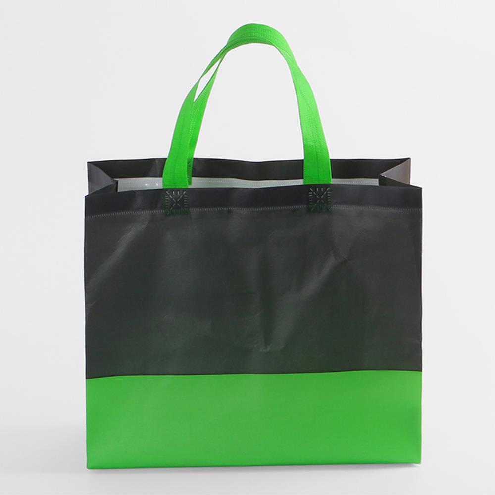 캐주얼보조가방  선물 쇼핑백 투톤 부직포 가방 20개