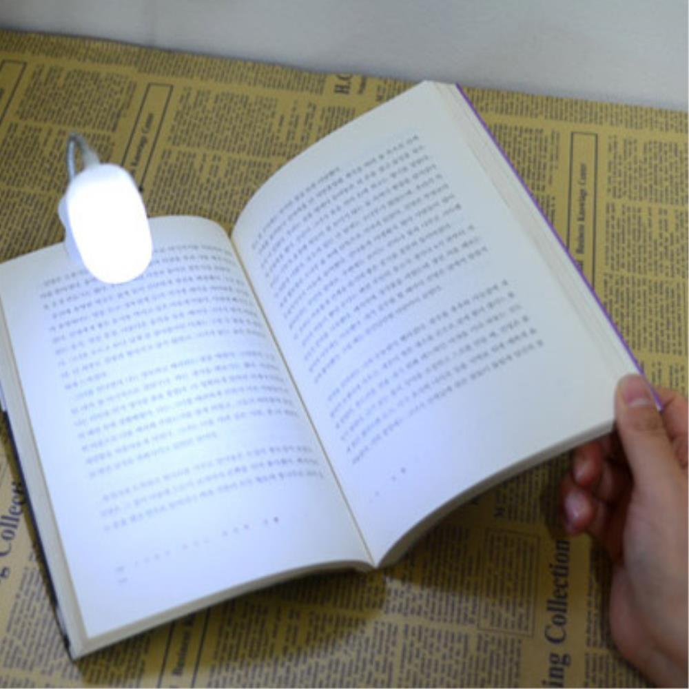 야간독서 자바라 미니 집게 독서등 5개 싱크대조명  전기스탠드LED