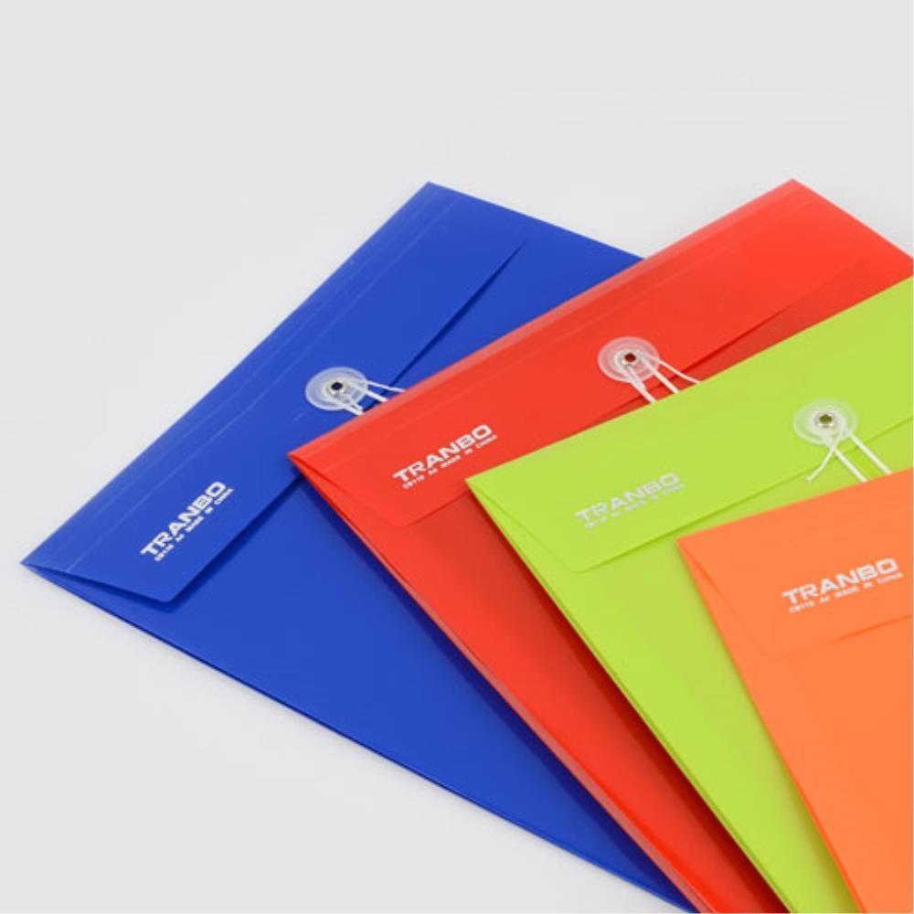 서류봉투형 문서보관 A4 파일케이스 10개 쫄대파일 화일