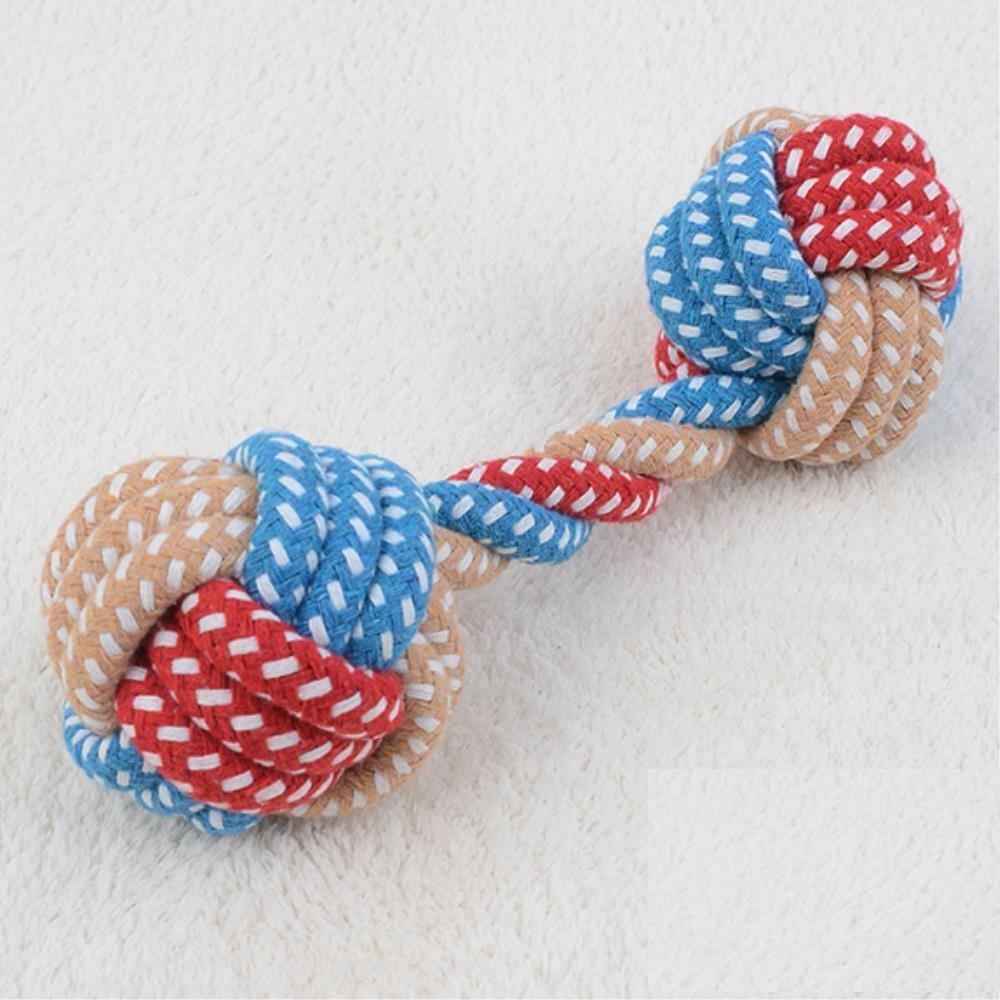 치석제거  반려동물 뼈모양끈 장난감 5개 강아지장난감공
