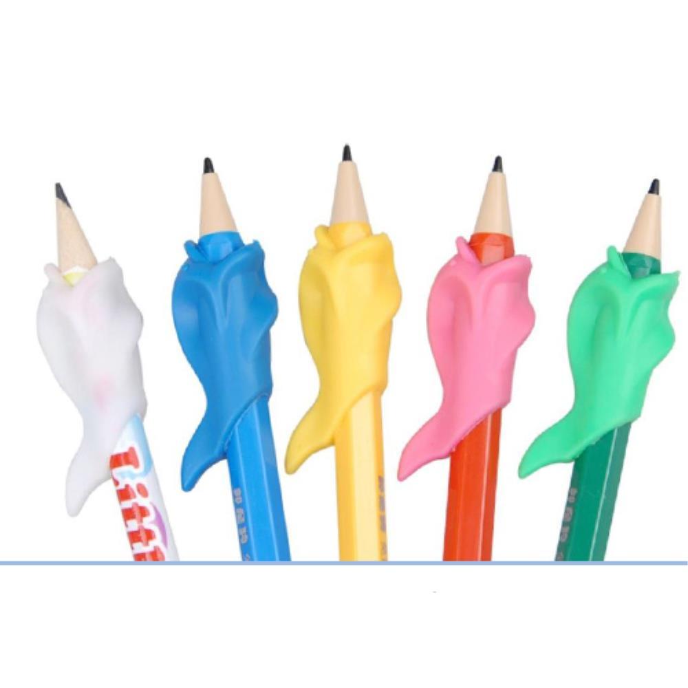 굳은살방지 어린이  연필교정 펜그립 100개 볼펜그립 학용품