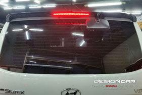 장착비 포함 그랜드 스타렉스 LED 스포일러(블랙)