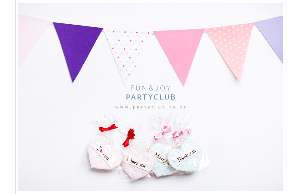 삼각플래그 펠트 가랜드(파스텔) - 파티클럽, 3,900원, 파티용품, 할로윈 파티