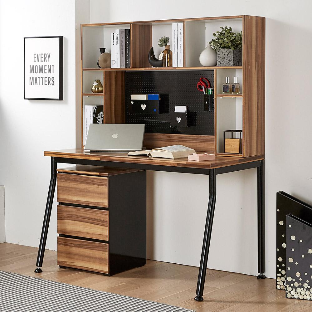 베라트 우드 1200 프리미엄 철제책상/컴퓨터책상공부책상스틸테이블
