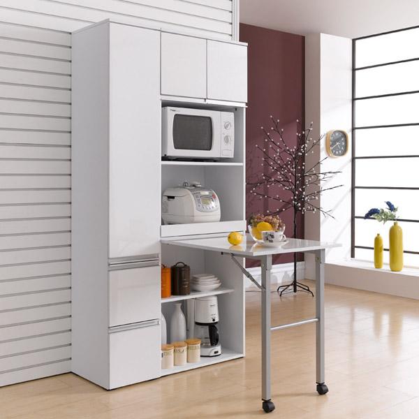 [현재분류명],포를리 렌지대(접이식탁겸용)/접이식주방수납장틈,접이식탁,접이식식탁,주방수납장,전자렌지대,전자렌지다이