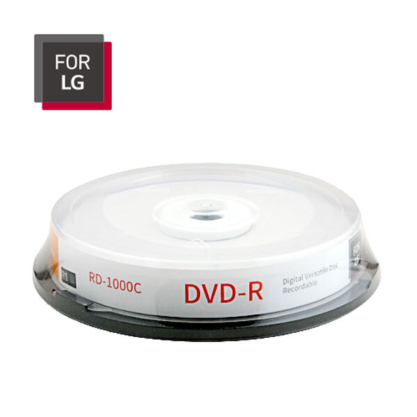 LG DVD-R 10P