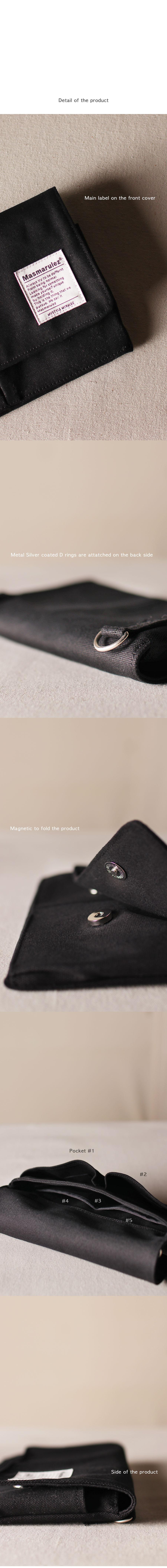 마스마룰즈(MASMARULEZ) 에스 미니 포켓 크로스백 _ 블랙