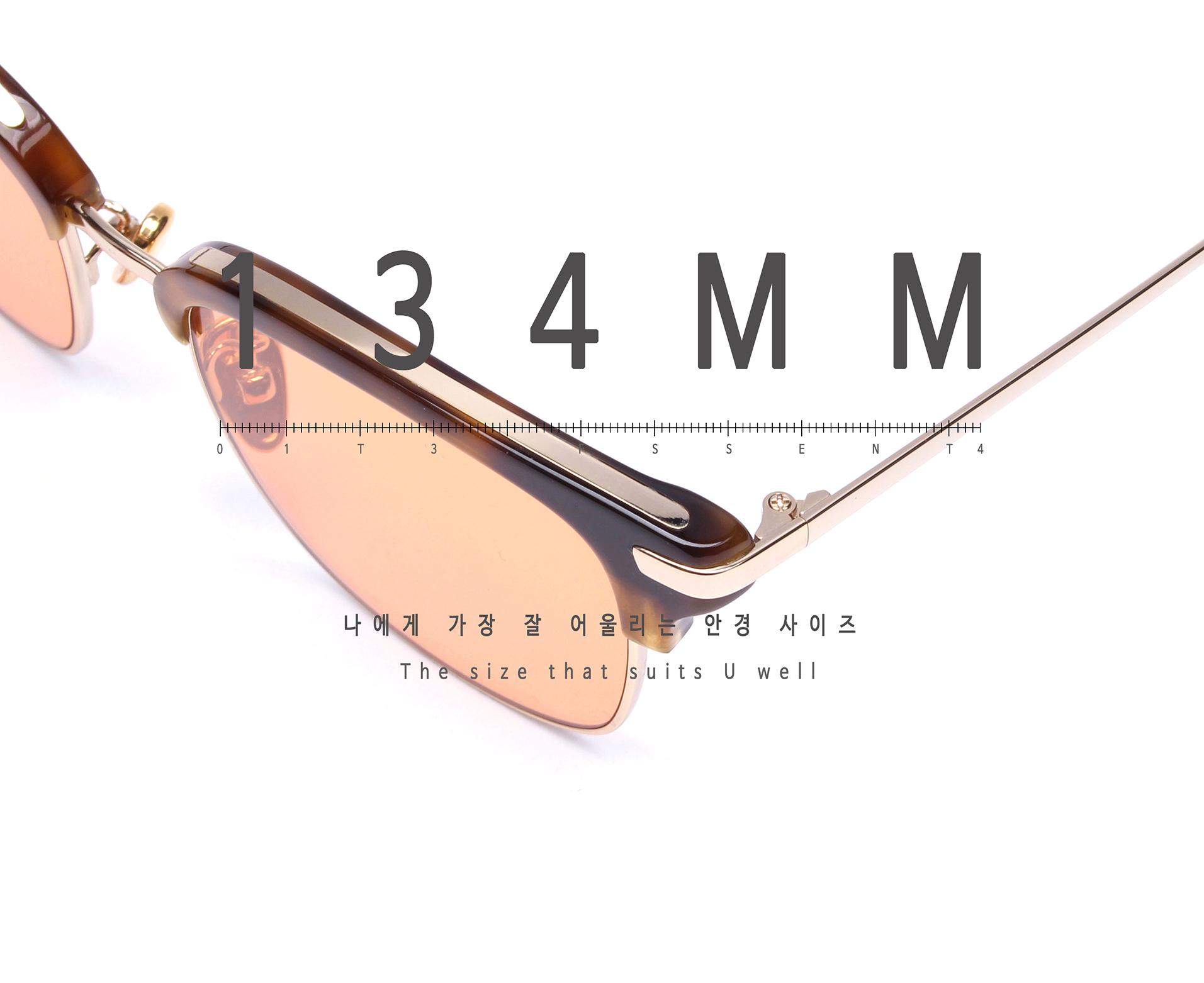 일삼사엠엠(134MM) A000515 오렌지틴트 선글라스