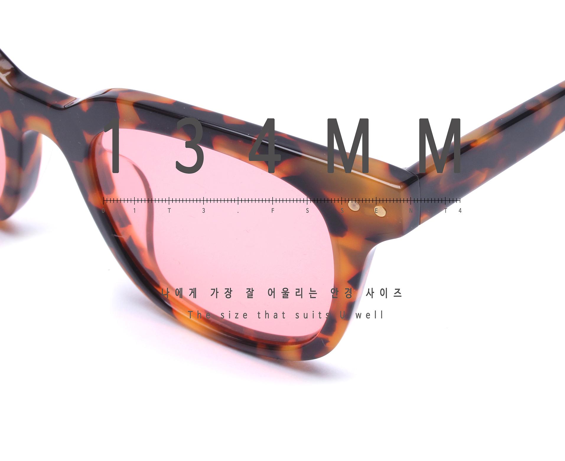일삼사엠엠(134MM) BLANK 레드틴트 선글라스