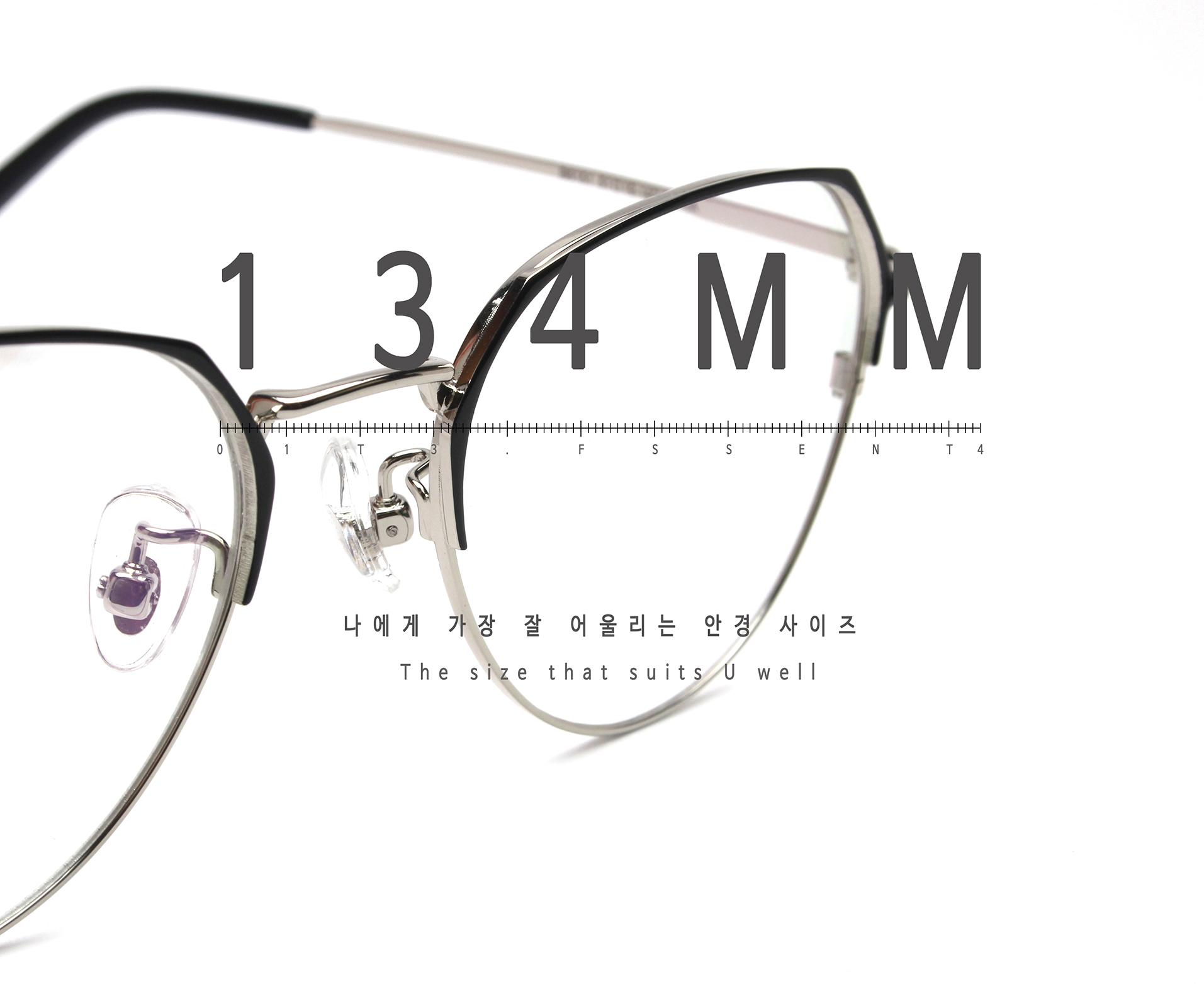 일삼사엠엠(134MM) A000581 블랙/실버 베타티타늄
