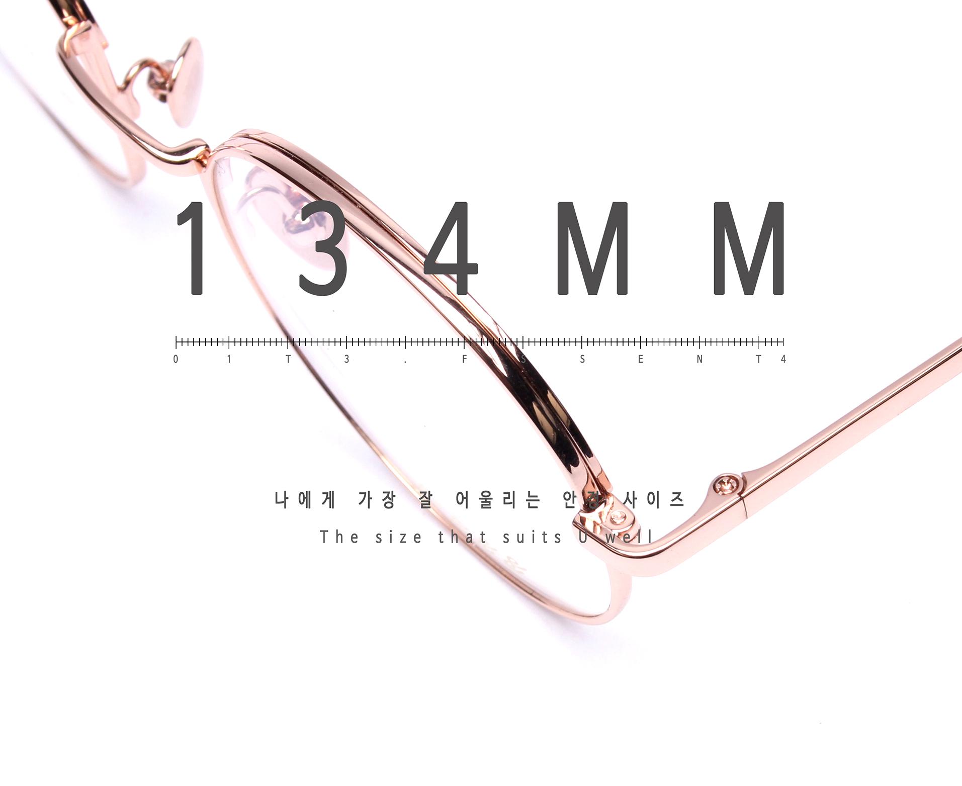 일삼사엠엠(134MM) A000640 로즈골드 티타늄-IP도금