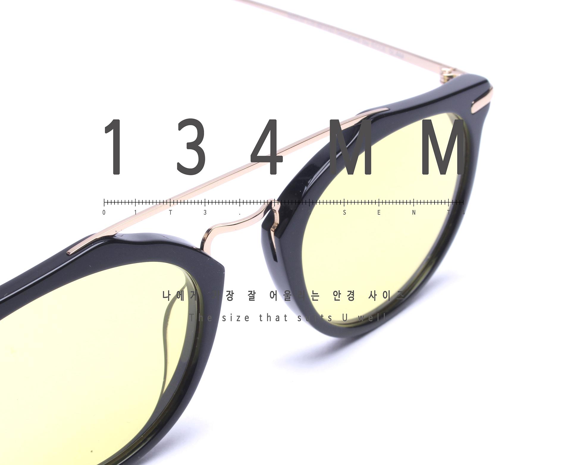 일삼사엠엠(134MM) A000638 옐로우틴트 선글라스