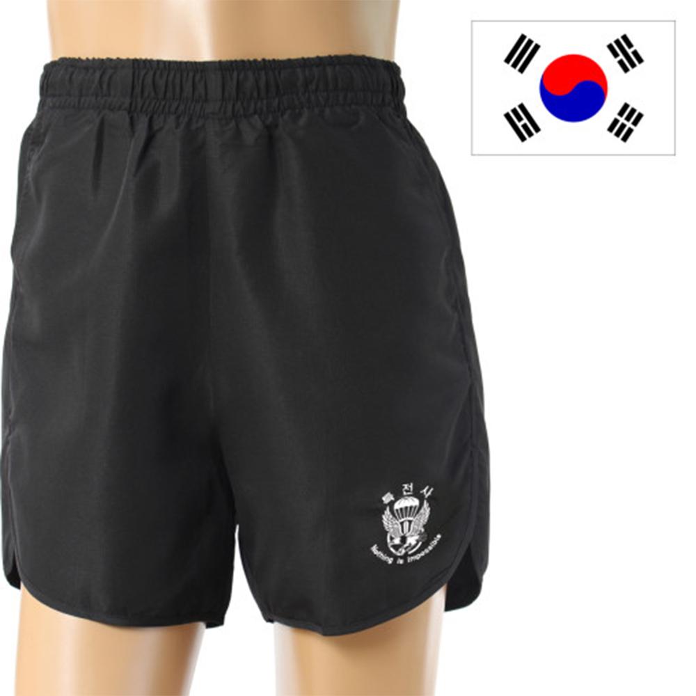 국산 쿨 특전사 반바지/남자반바지 트레이닝반바지 군용 군대반바지