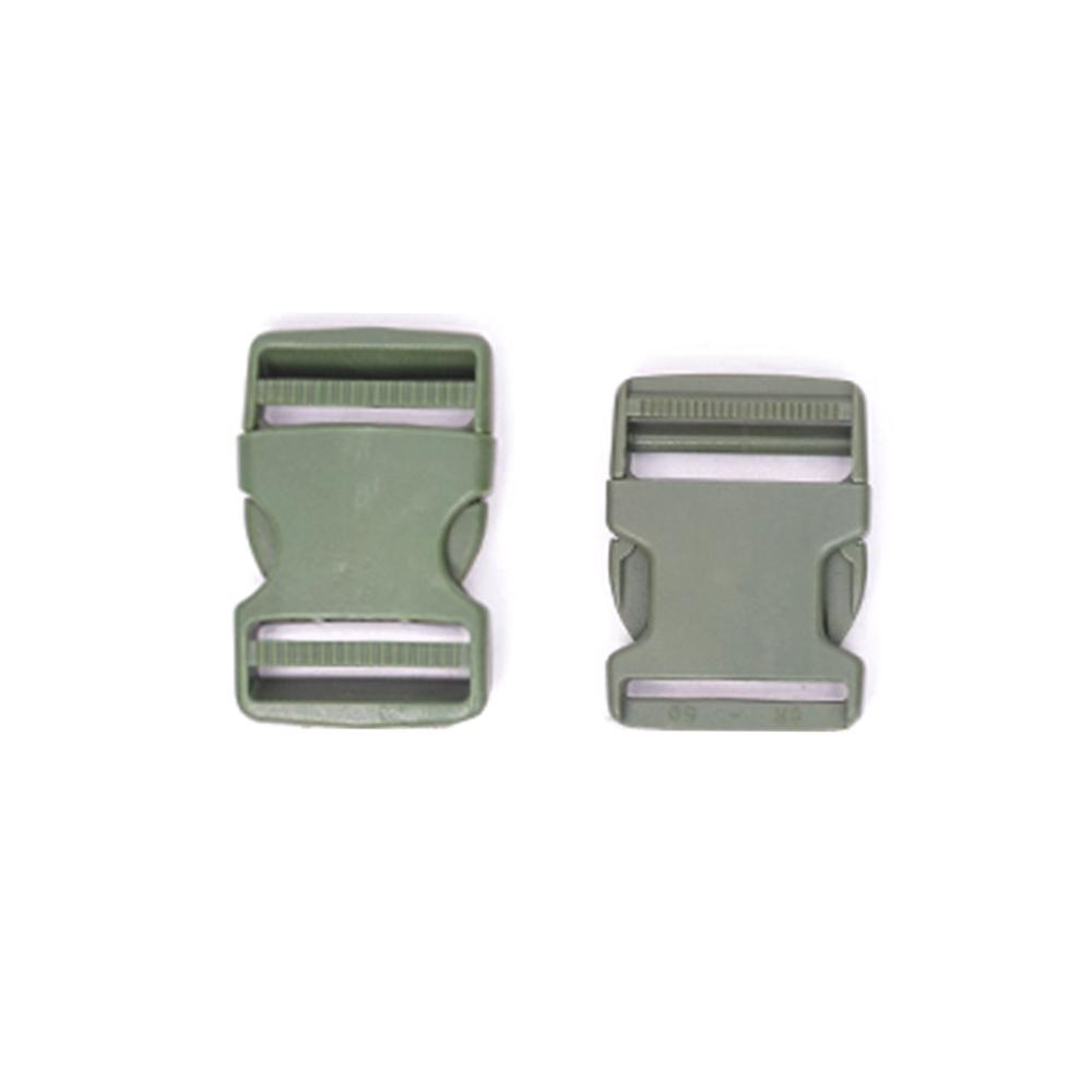 가방 부자재 웨빙용 플라스틱 50mm SR버클 똑딱버클