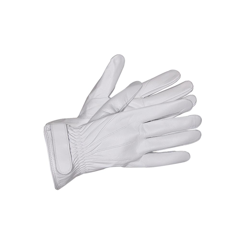 흰색 가죽장갑/군대 헌병대 경찰 스키 방한장갑