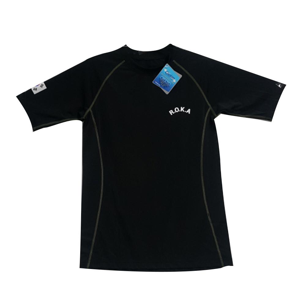 래쉬가드 숏 슬리브 반팔티 ROKA 군용 로카 티셔츠