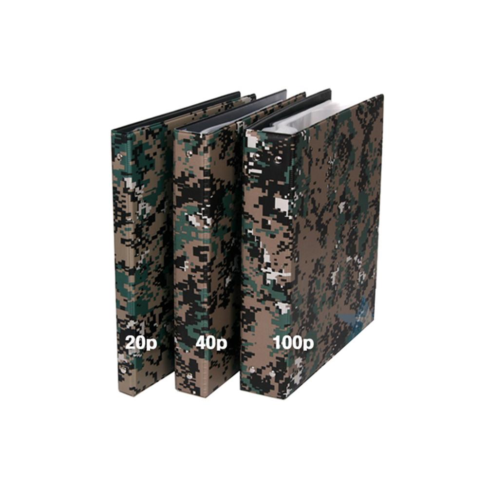 디지털픽셀 A4바인더(비닐속지 100P) 군대 행정용품
