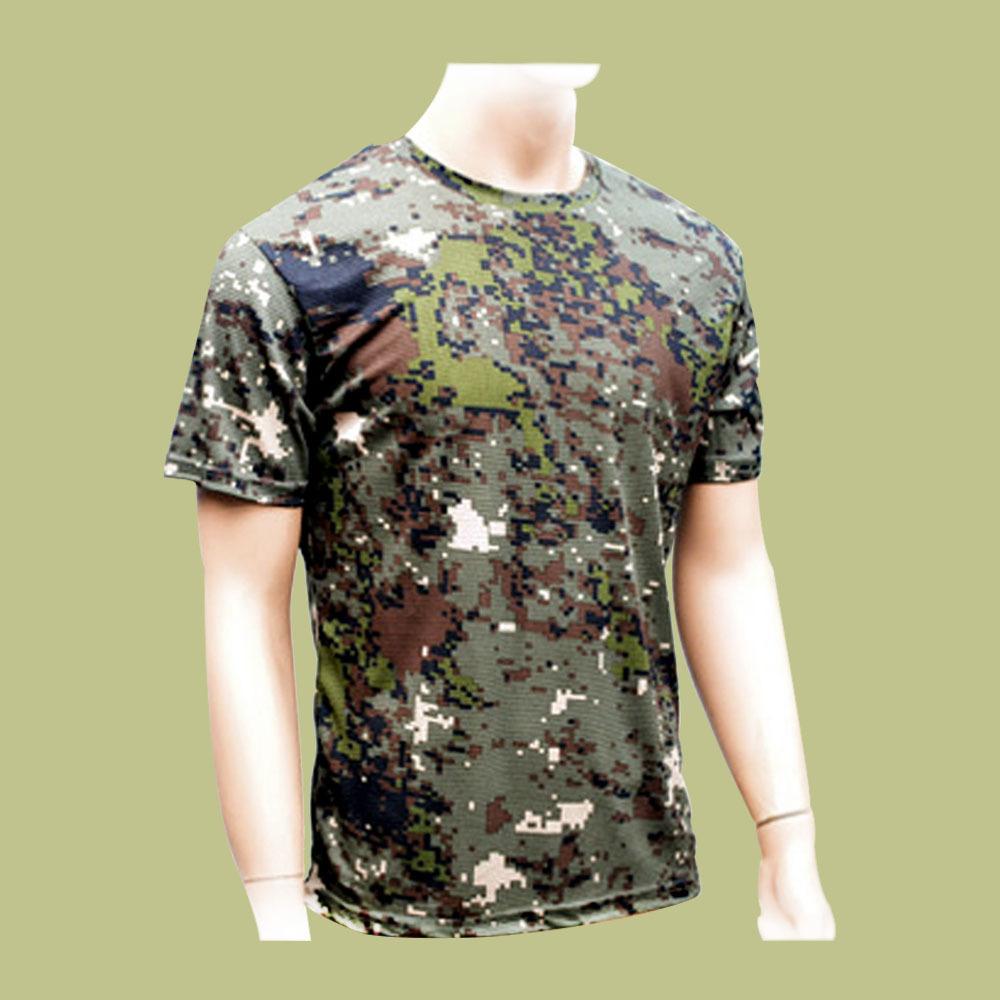 국산 밀리터리 육군 디지털 반팔티셔츠