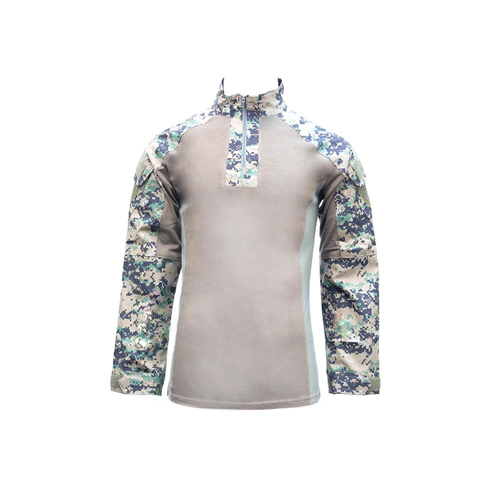 특전사 컴뱃셔츠 전술셔츠 긴팔 국산 택티컬셔츠