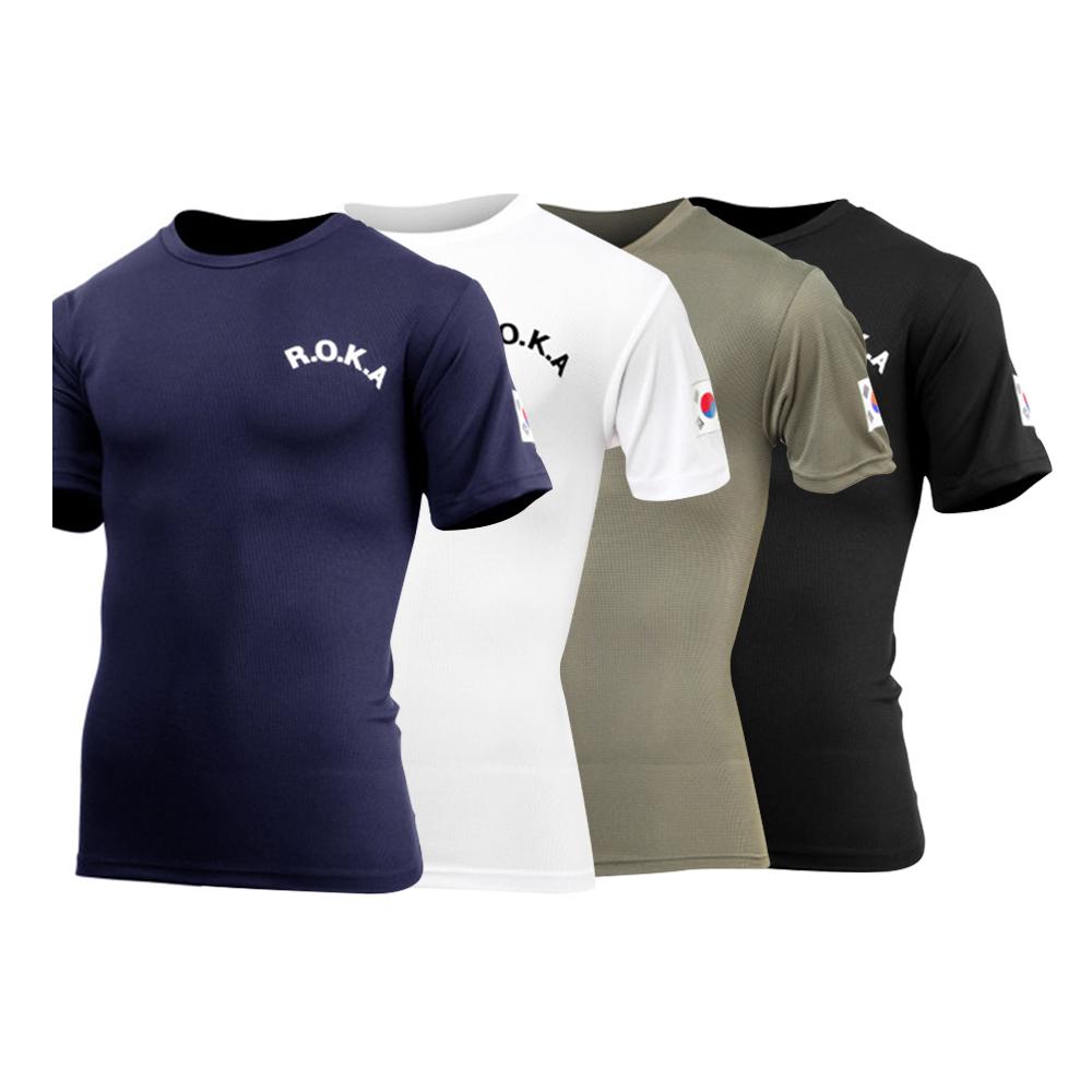 ROKA 로카티 로카반팔티 4종 티셔츠 쿨드라이 반팔티