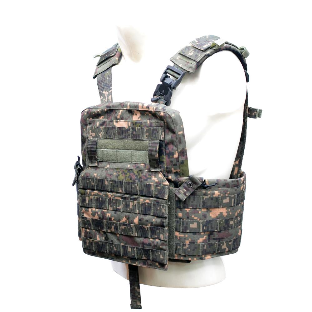 KCP 육군 퀵 플레이트 캐리어 방탄복 서바이벌조끼