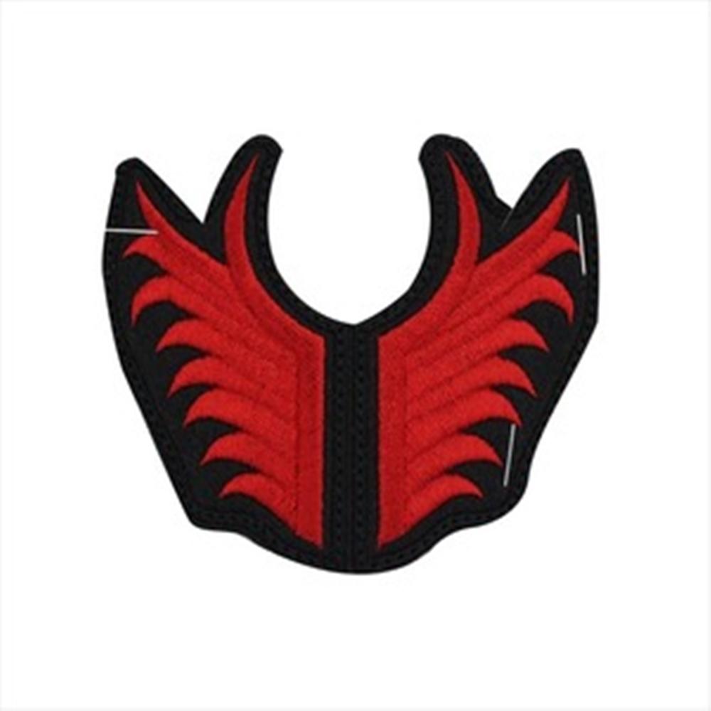 자수 모자날개 적색 (양쪽1set)