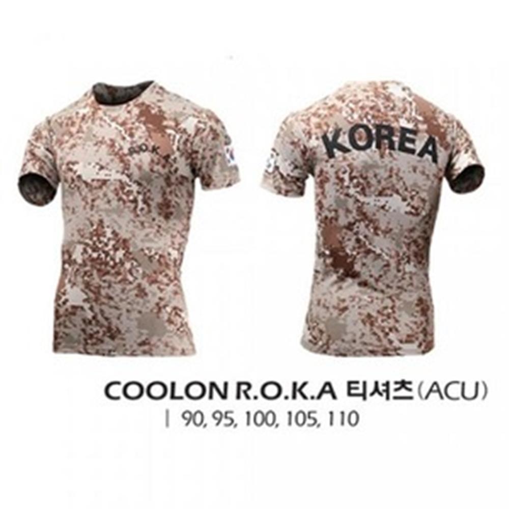 COOLON ROKA 티셔츠(ACU)/쿨론 ROKA 티셔츠(ACU)