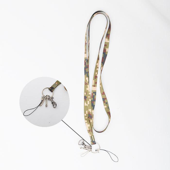 목걸이형 열쇠고리 군대 군용 군인 자대생활 필수품