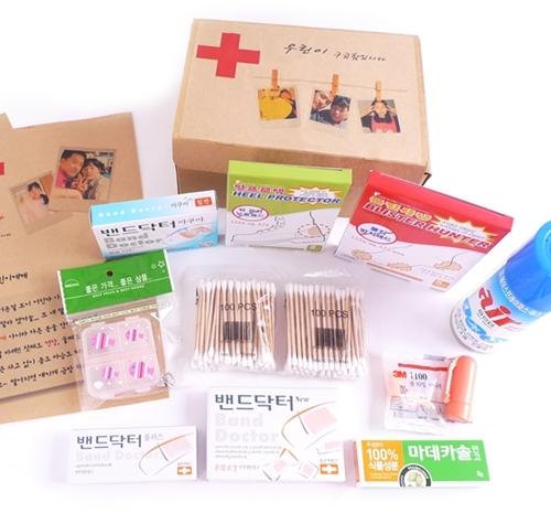 핸드메이드 구급상자 응급키트 생존가방 선물세트