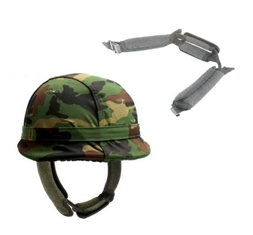 턱보호 땀받이 /군용 군인 훈련용품