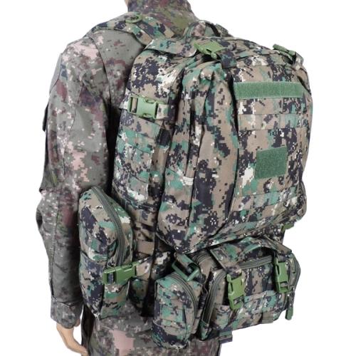 특전사픽셀 디지털 가방(60L) 군인 밀리터리 남자백팩