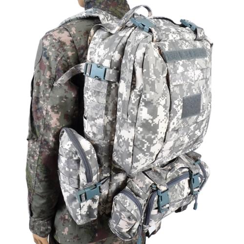 ACU픽셀 디지털 가방(60L) /군인 군대 학생가방 밀리터리 백팩