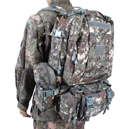 육군픽셀 디지털 가방(60L) 밀리터리 백팩 군인용품