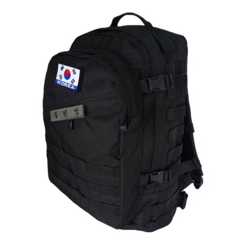 블랙 전술가방(45L) /군인 군대 학생가방 밀리터리 백팩