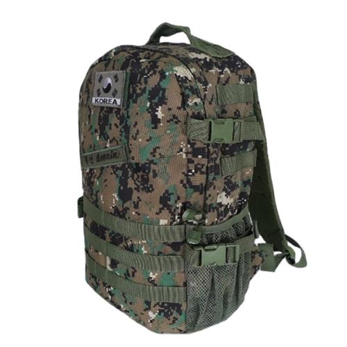 특전사 디지털 가방(35L) 군인군용 밀리터리 남자백팩 학생가방