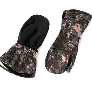 디지털 방수 삼지장갑 /군용 군대 방한용품