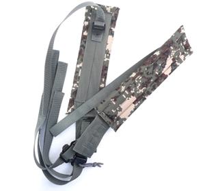 신형 군장 어깨패드(충격흡수) 군용군인군대 훈련용품