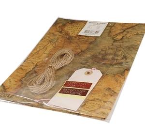 고급 포장지 고지도 리본공예 포장리본 리본재료