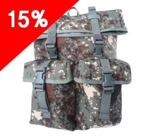 육군픽셀 더플백 /군대 군인 백팩 학생가방