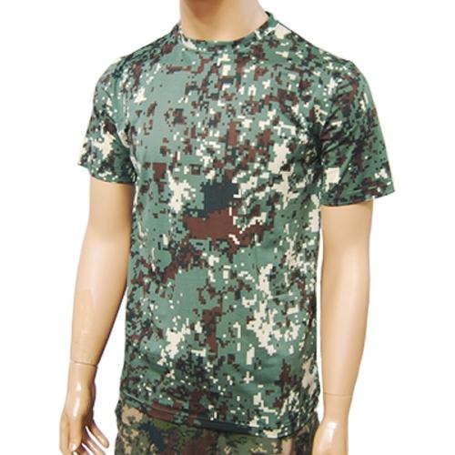 국산 코오롱 디지털반팔티 /군인 군대 티셔츠
