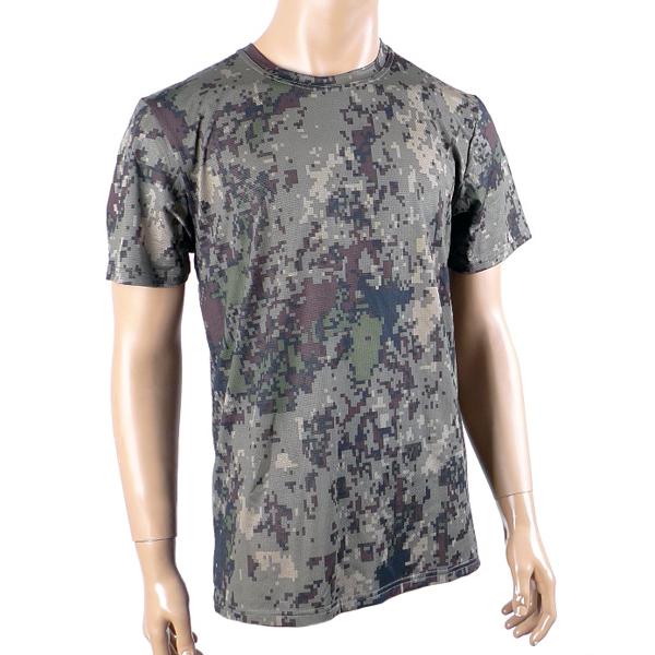 쿨링 디지털 라운드 반팔티 /군인 군대 티셔츠