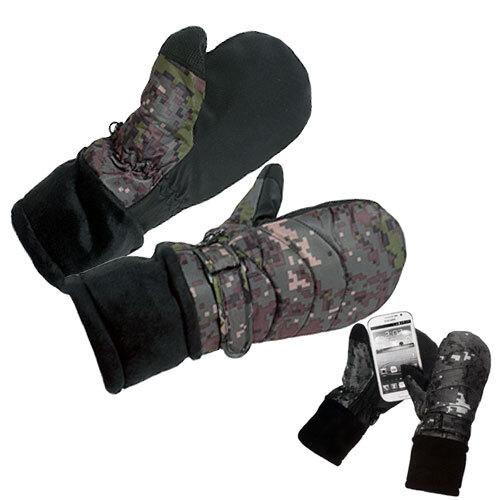 폰터치 방수 벙어리 장갑 군인 군대 방한 겨울용품