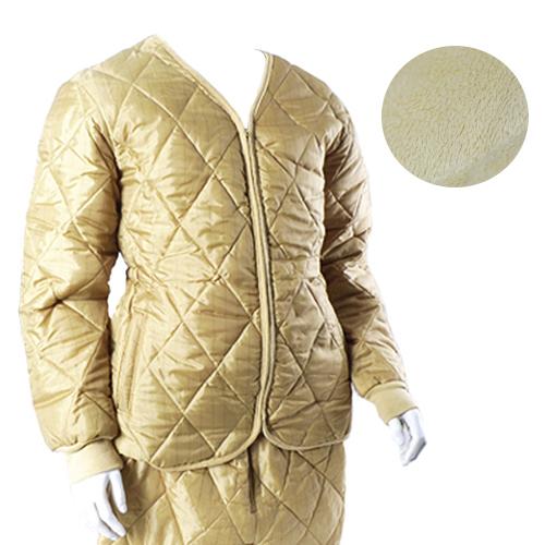 겨자 기모 시보리 깔깔이(상,하의) 동계 방한 자켓