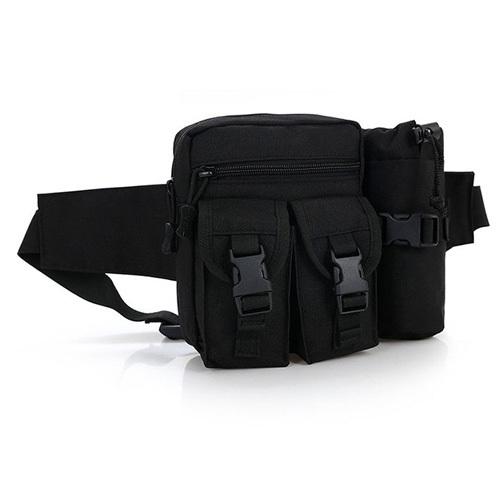 인보틀 멀티 힙색 블랙 검정색 허리쌕 낚시 물병가방