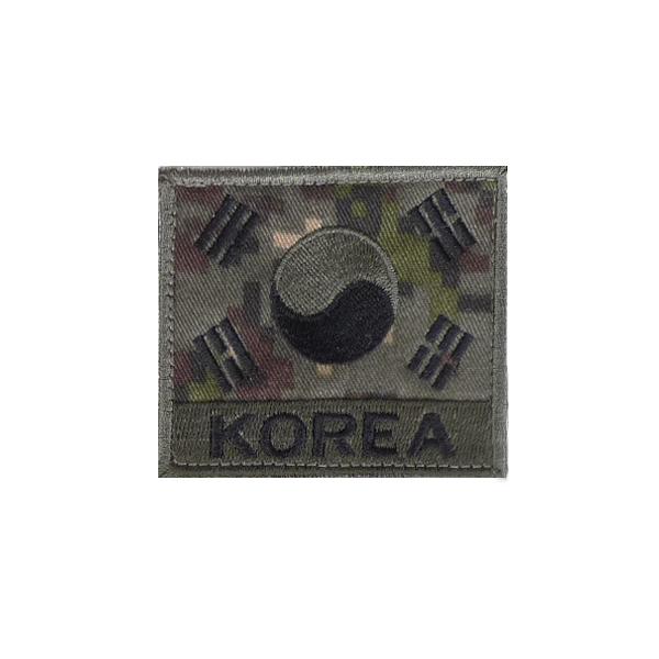 KOREA 벨크로 태극기 디지털국방