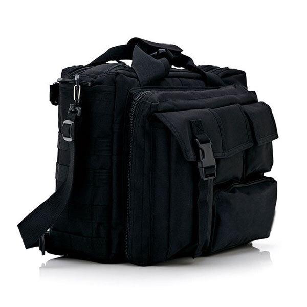 밀리터리 노트북가방 블랙 메신저 크로스백 서류가방