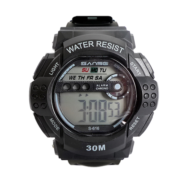 군인 시계 스포츠 디지털 LED 군인 군대 입대용품